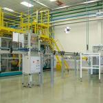 Automação para máquinas de sopro